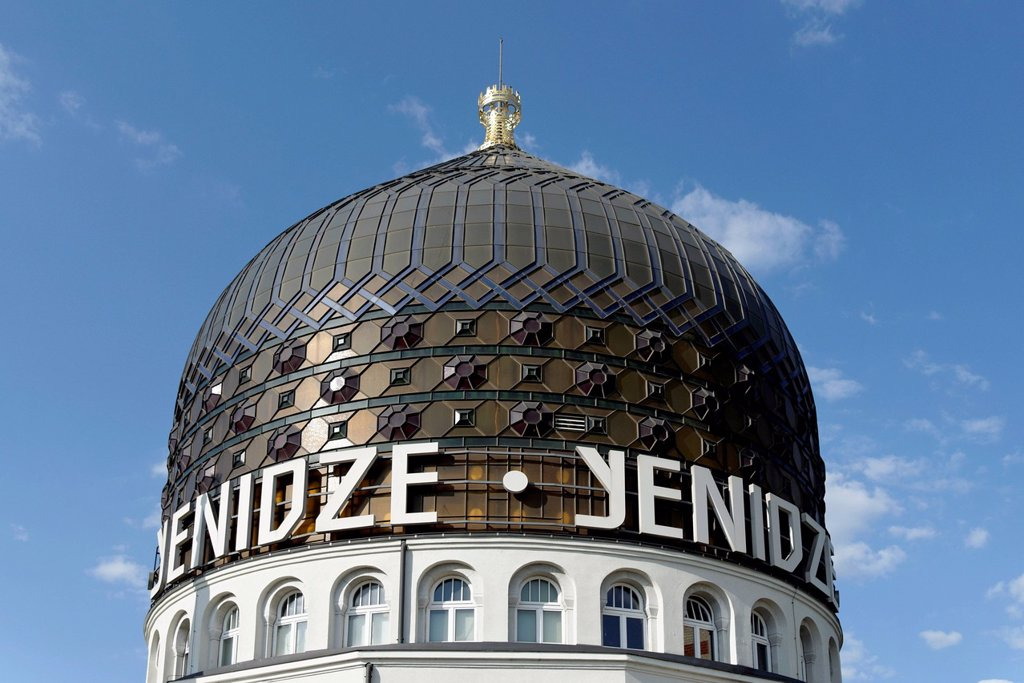 Stock Photo: 1848-728608 Dome of the Yenidze building, Dresden, Florence of the Elbe, Saxony, Germany, Europe