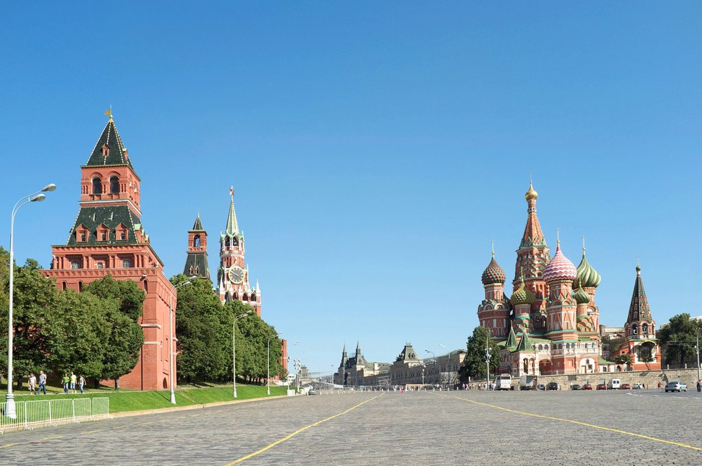 Kremlin, Moscow, Russia, Eurasia : Stock Photo