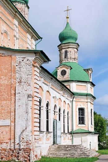 Stock Photo: 1848-73220 Assumption Cathedral, Goritsky monastery, Pereslavl_Zalessky, Russia