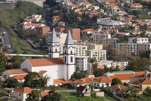 Church in Funchal, Madeira, Portugal : Stock Photo