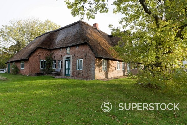 Stock Photo: 1848-746934 Frisian house, Keitum, Sylt, Schleswig_Holstein, Germany, Europe