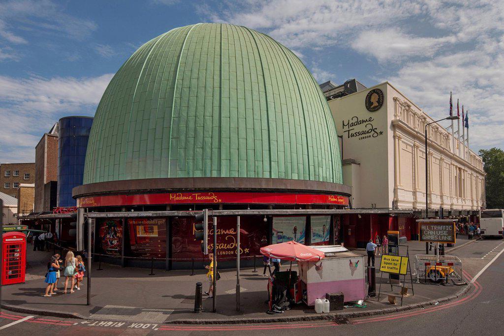 Madame Tussauds Museum and Planetarium, London, England, United Kingdom, Europe : Stock Photo