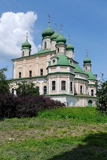 Stock Photo: 1848-75198 Uspensky Cathedral in the Goritsky Monastery, Pereslavl_Zalessky, Russia