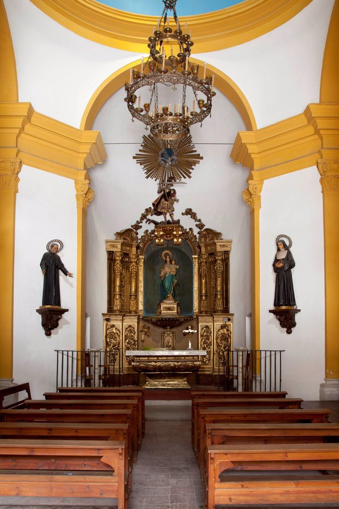 Stock Photo: 1848-752537 Antic Hospital de Sant Miquel, Tossa de Mar, Costa Brava, Catalonia, Spain, Europe
