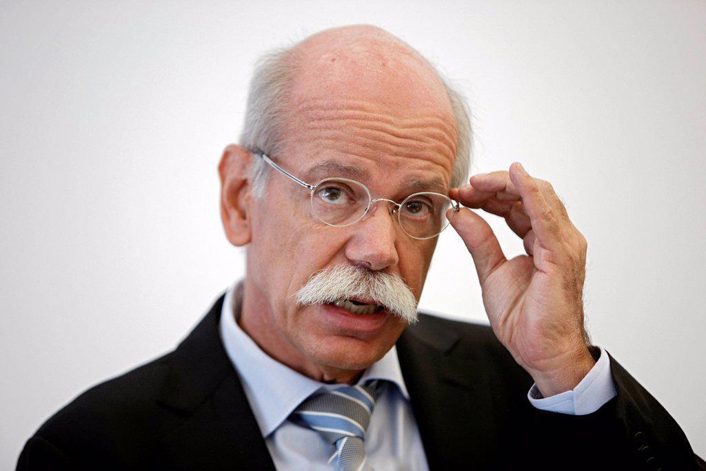 Stock Photo: 1848-754973 Dr. Dieter Zetsche, Chairman of the Board of Management of Daimler AG, Stuttgart, Baden_Wuerttemberg, Germany, Europe