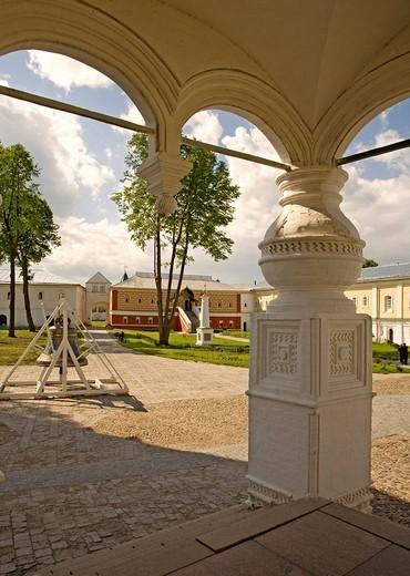 Ipatiev Monastery, Romanow palace, Kostroma, Russia : Stock Photo