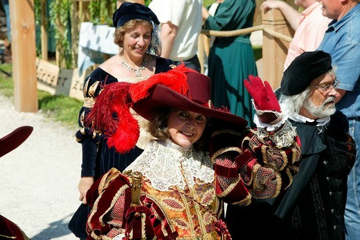 Stock Photo: 1848-76038 Medieval festival, Burghausen, Upper Bavaria, Bavaria, Germany, Europe