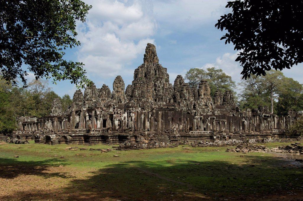 Bayon Temple : Stock Photo