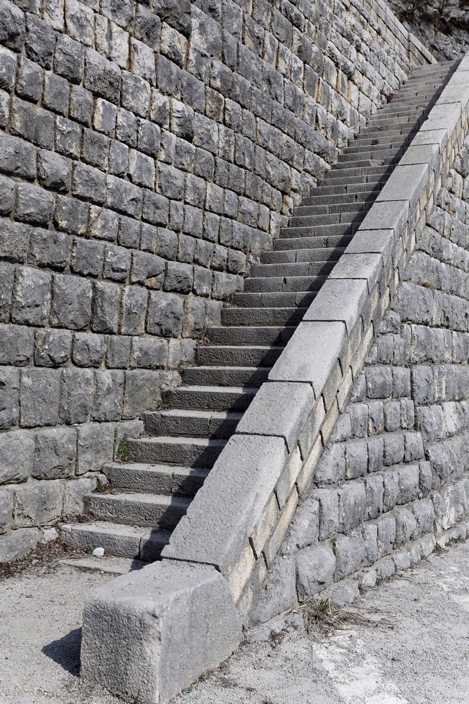 Stock Photo: 1848-777939 Stone stairs