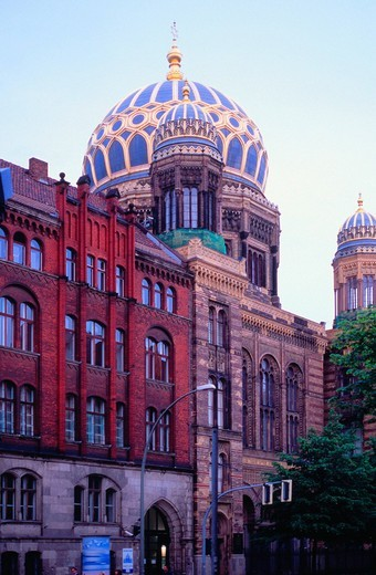 Stock Photo: 1848-79248 New Synagogue, Berlin, Germany