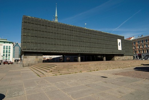 Museum of occupation, Riga, Latvia : Stock Photo