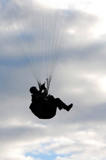 Stock Photo: 1848-79490 Paraglider