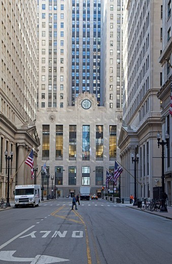 Stock Photo: 1848-81020 The Chicago Board of Trade, Chicago, Illinois, USA