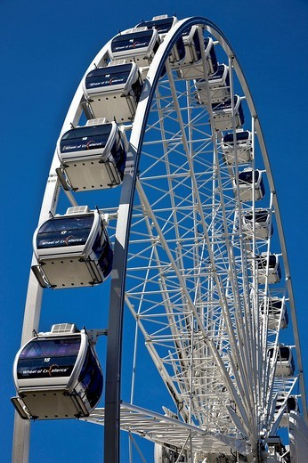 Ferris wheel, Copenhagen, Denmark, Europe : Stock Photo