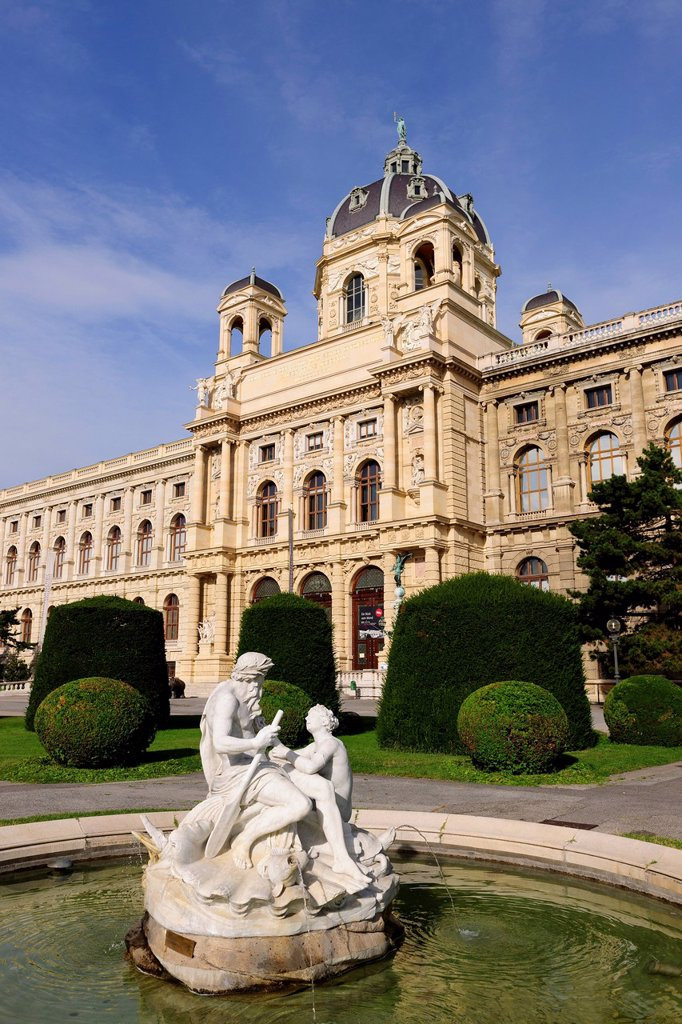 Museum of Natural History, Vienna, Austria : Stock Photo