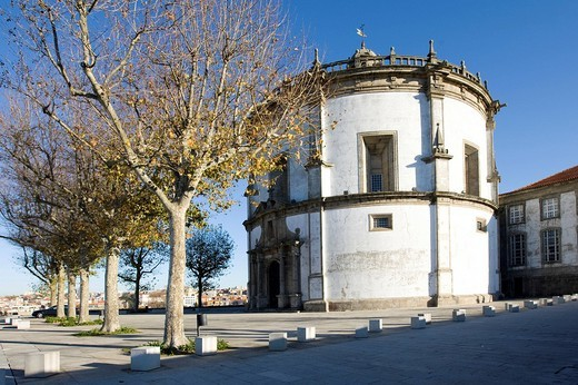 The Mosteiro da Serra do Pilar Monastery, Vila Nova de Gaia quarter, Porto, UNESCO World Cultural Heritage Site, Portugal, Europe : Stock Photo