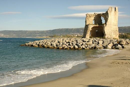 Stock Photo: 1848-82870 Torre Saracena, Briatico, Calabria, Italy, Europe