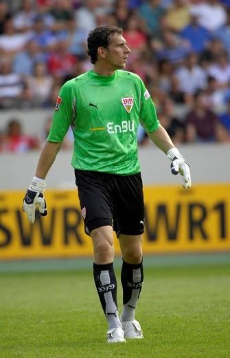 Raphael SCHAEFER goalkeeper VfB Stuttgart : Stock Photo