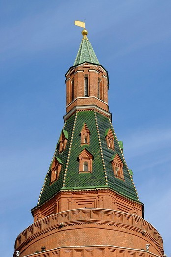 Stock Photo: 1848-84905 Tower of the Kremlin, Moscow, Russia