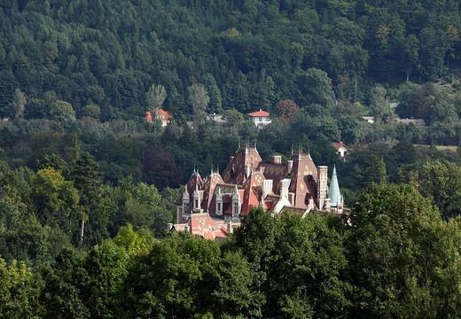 Stock Photo: 1848-85295 Schloss Rothschild Palace, Reichenau an der Rax, Lower Austria, Austria, Europe