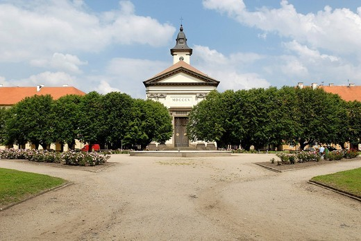 Stock Photo: 1848-85509 Former ghetto, historic old town of Terezin, Theresienstadt, North Bohemia, Czech Republic