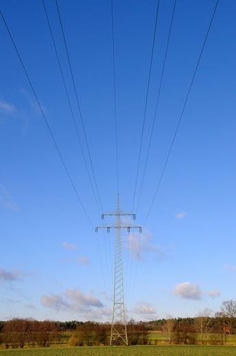 Power mast : Stock Photo
