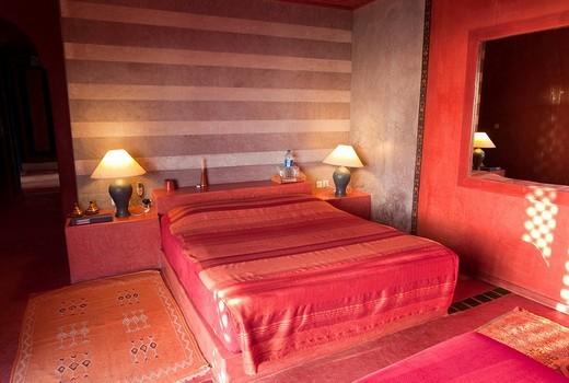 Stock Photo: 1848-92867 Suite, Hotel KSAR MASSA, south of Agadir, Moroccan style architecture, Morocco, Africa