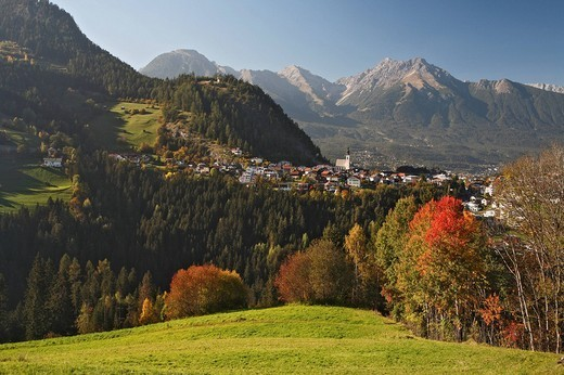 Arzl im Pitztal, Lechtal Alps, Tyrol, Austria, Europe : Stock Photo