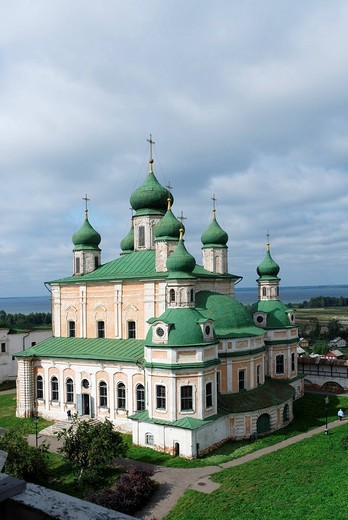 Stock Photo: 1848-93136 Assumption Cathedral, Goritsky monastery, Pereslavl_Zalessky, Russia