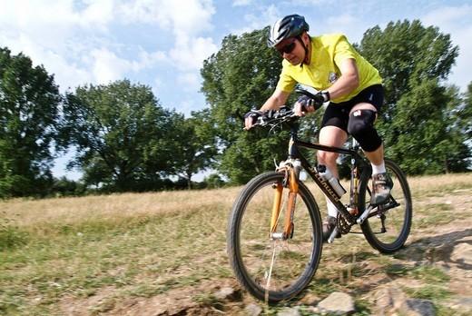 Biker : Stock Photo