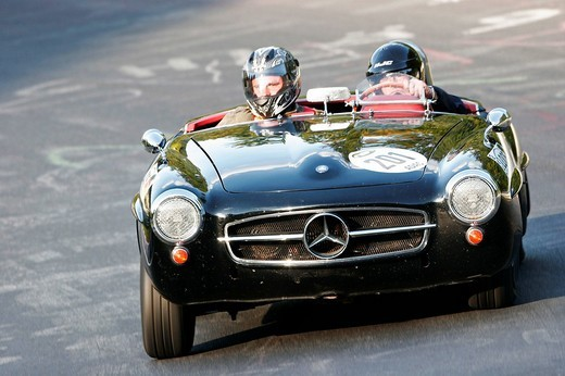 Mercedes 190 SLR, year of construction 1957, Nuerburgring Classic 2007 : Stock Photo