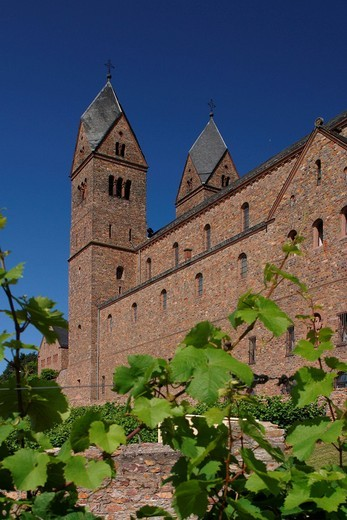 Stock Photo: 1848-95597 Abbey St. Hildegard, Ruedesheim, Germany