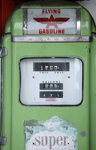 Old gas pump, Kailua_Kona, Hawaii, USA : Stock Photo