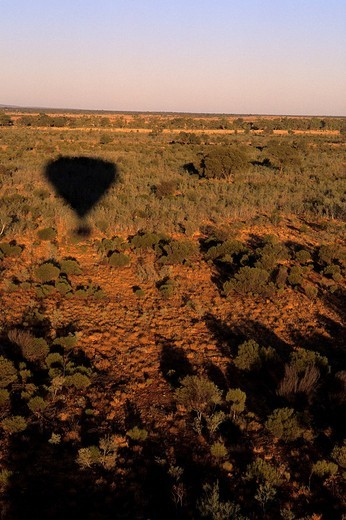 Stock Photo: 1848-97474 Outback ballooning, Northern Territory, Australia