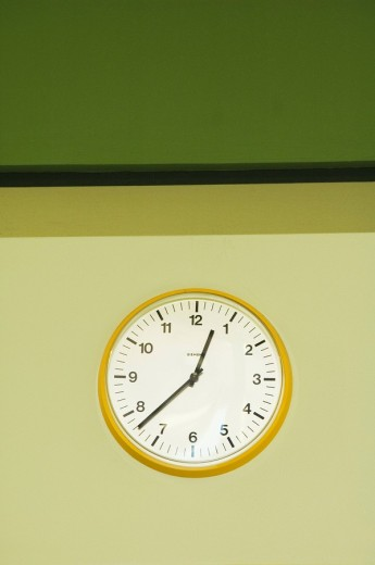 Stock Photo: 1848R-273001 Wall Clock