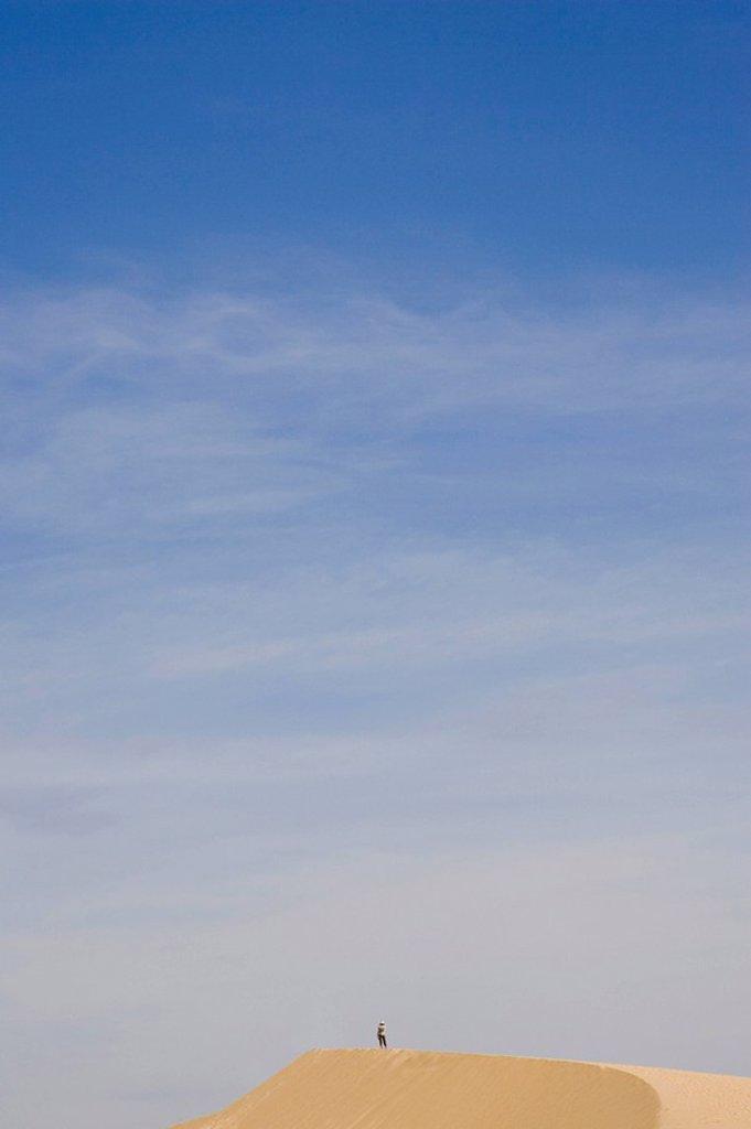 Stock Photo: 1848R-273364 White sand dunes, Mui Ne, Vietnam, Southeast Asia, Asia