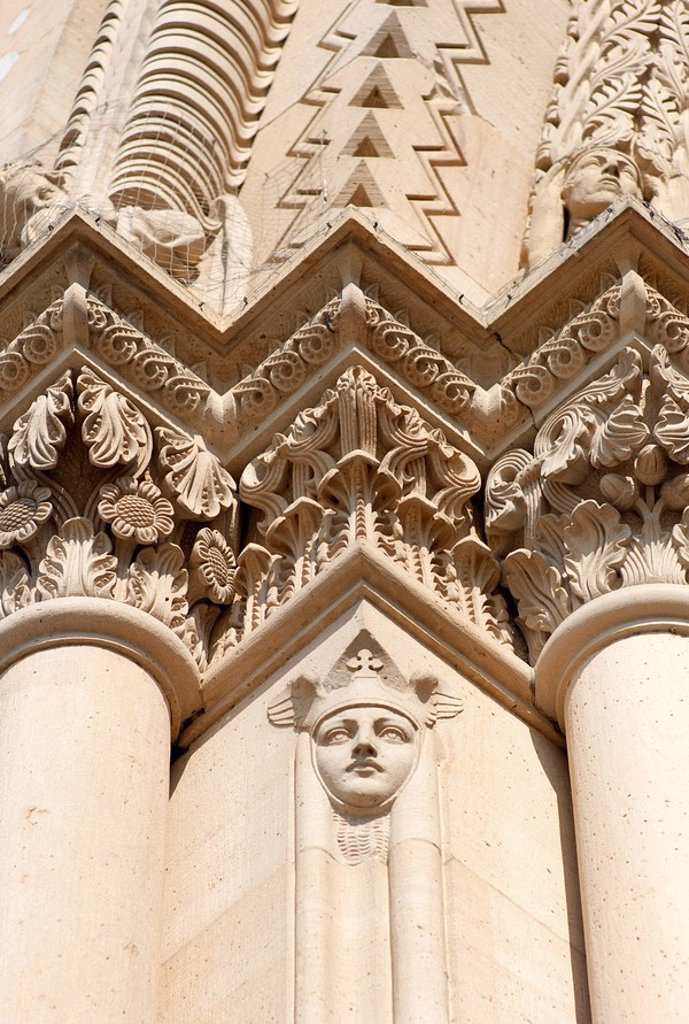 The Speyer Cathedral, Kaiserdom, Speyer, Rhineland_Palatinate, Germany, Europe : Stock Photo