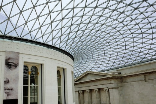 British Museum in London, England : Stock Photo