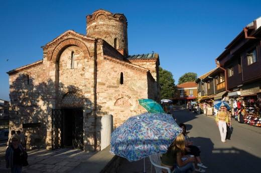 St  John the Baptist Church Nesebar, Bulgaria : Stock Photo
