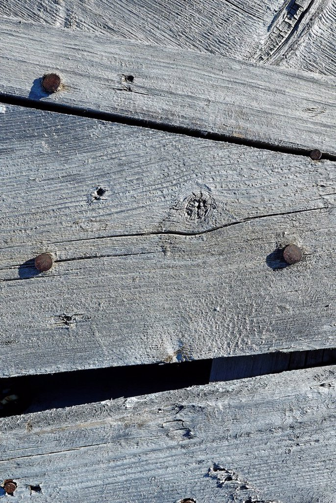 Stock Photo: 1848R-277388 Weathered surface of wood
