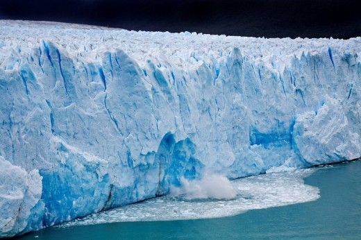 Stock Photo: 1848R-278611 Glacier Perito Moreno, national park Los Glaciares, Argentina, Patagonia, South America