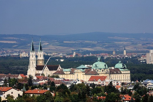 Klosterneuburg Monastery, Lower Austria, Austria, Europe : Stock Photo