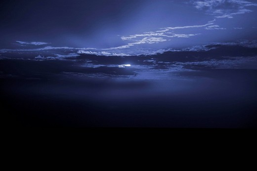 Stock Photo: 1848R-280407 Sky at night