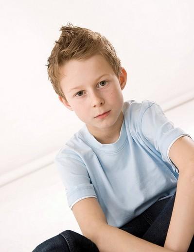Portrait of a cool boy : Stock Photo