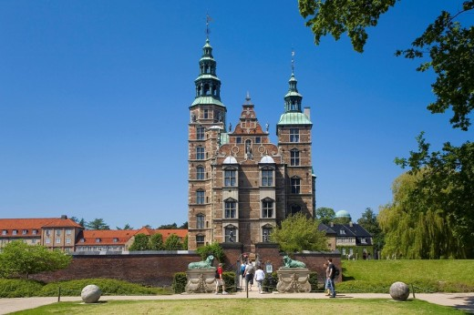 Stock Photo: 1848R-283156 Rosenborg Castle in Copenhagen, Denmark, Europe