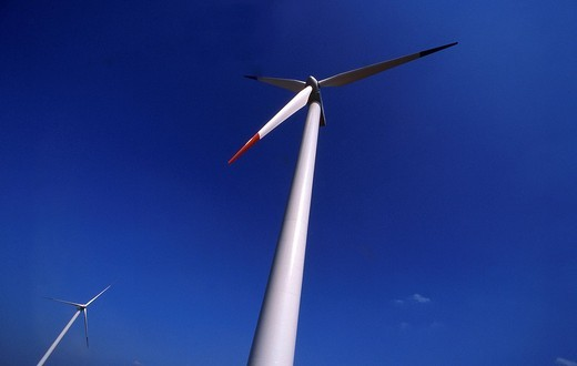 Wind farm : Stock Photo