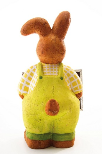 Easter bunny, back view : Stock Photo