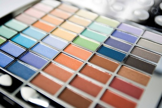 Make-up palette : Stock Photo