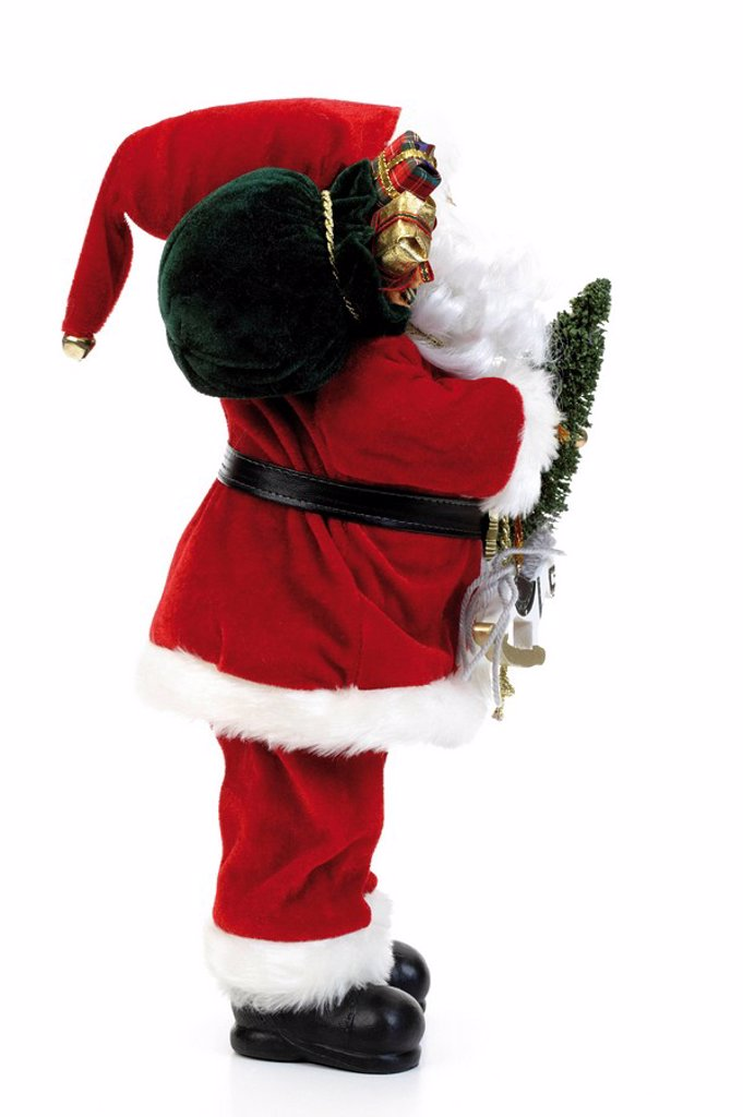 Santa Claus, Christmas decoration : Stock Photo