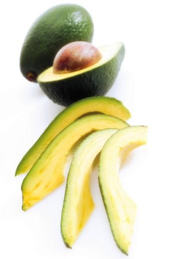 Avocados Persea americana : Stock Photo